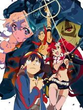Gurren Lagann Characters Anime Manga Art Huge Print POSTER Affiche