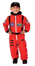 NASA Jr Astronaut Space Suit Orange Toddler Child Costume