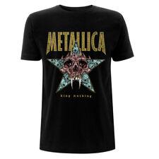 UFFICIALE Metallica-King nulla-Uomo Nero T-shirt