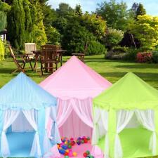 Princess Castle Children Tent Indoor Outdoor Theater Beach Tent Baby Toy Po #3YE
