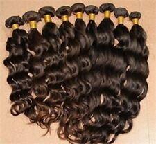 100% brazilian/peruvian Virgen Humano Remy Natural Weft las extensiones de cabello