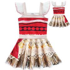 Ballet Skirt Moana Girl's Party Dress Skirt Mini Birthday Cosplay Dress