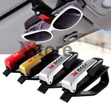 Porta Occhiali Reggi Da Sole Vista Visiera Per Auto con Clip Biglietti e Carte