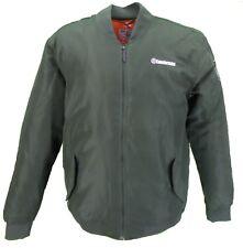 Lambretta Target Logo Green Ma 1 Bomber Jacket