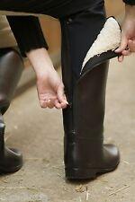 »Happy Boot« PVC-Winter-Reitstiefel mit Reißverschluss gefüttert wasserdicht USG