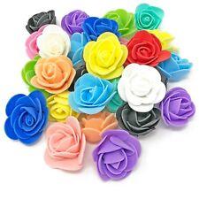 30mm Espuma Rosas Flor Rosa Artesanía Decorativa Artesanal Flores Scrapbooking