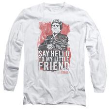 Scarface Little Friend Mens Long Sleeve Shirt
