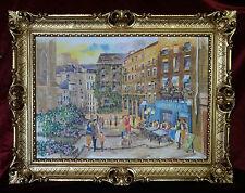 BILDERRAHMEN BILD RAHMEN ANTIK BAROCK ROKOKO LA RUE DES BARRES PARIS 90x70  M3