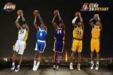 "24 Kobe Bryant Basketball MVP Art Poster Silk Print 12x18"" 24x36"" Wall Decor"