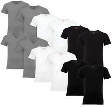 Levi's 2er 4er Pack Crew, V-Neck Unterhemd T-Shirt Shirt kurzarm 100% Baumwolle