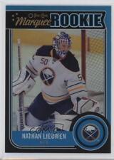 2014-15 O-Pee-Chee Black Rainbow #530 Nathan Lieuwen Buffalo Sabres Hockey Card
