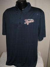 MLB Detroit Tigers Baseball Coach's Golf Polo Shirt Mens Sizes Nwt  Majestic