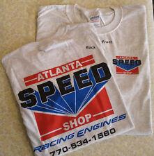 Speed Shop Super Hero Racing T-Shirt- Light Gray