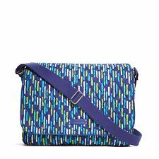 Vera Bradley Stylish Laptop Messenger, Absolute Perfect Bag for School & Work