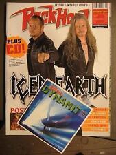 ROCK HARD METAL MAGAZINE 244 - 2007 - ICED EARTH PETE STEELE INCL. POSTER & CD