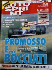 Autosprint 33-34 1990 Ecco la nuova Ferrari 641 Barnard