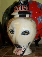 Custom memorial Pet DOG Cat cremation urn Golden Retriever portrait urns art