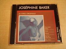 CD / JOSEPHINE BAKER - BRAVO A   20 TITRES ORIGINAUX