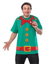 Elf Santa Helper T-Shirt Funny Holiday Christmas Adult Costume