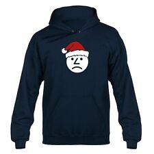 Sad Onion Santa Hat Hooded Sweater Hoody