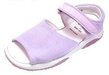 DE OSU/FARO - Girls Purple/Lavender Microfiber Sandals B-785 - European 27-36
