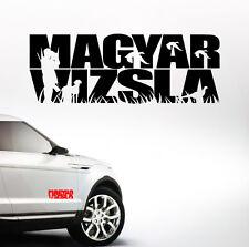 AWILTEXT Auto Aufkleber MAGYAR VIZSLA Jagdhund Jagd Hunde WILSIGNS Siviwonder