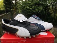 101295 PUMA ESITO III I  HG BLACK  WHITE Mens 6  13 MENS Football boots MOULDED