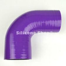 Silicone Hose 90 Degree Reducer Bend Purple PICK SIZE Silicone Shop (Black Core)