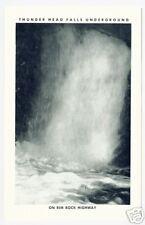 Rapid City Sd Thunder Head Underground Falls B&W