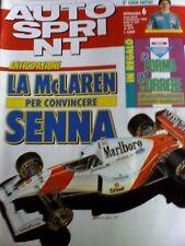 Autosprint 6 1993 La Mc Laren per convincere SENNA