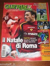 GUERIN SPORTIVO 2004/51-52=TOTTI ROMA=SHEVCHENKO PALLONE D'ORO=CALCIOMONDOPOSTER