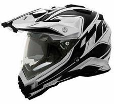 Oneal 2018 Sierra Dual Sport Full Face Helmet White/Black Motocross Mx Dirt Bike