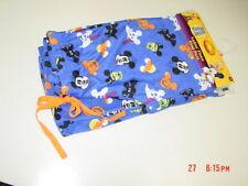 NWT Womens Girls Disney Fleece Sleep Pant Pajama Lounge Blue Mickey Mouse New