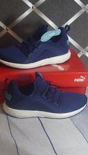 NIB PUMA MEGA NRGY Women's sneaker shoes BLUE 190369 03 SOFT FOAM