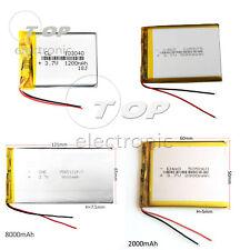 3.7V 1200-8000mAh Polymer Li-po Battery 103040 For Power bank ipod Computer PC