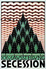 Secession 1906 Austria Vintage Poster Print Retro Style Art Nouveau Jugendstil