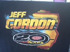 JEFF GORDON.2012 NASCAR SPRINT CUP SERIES SCHEDULE SHIRT LARGE