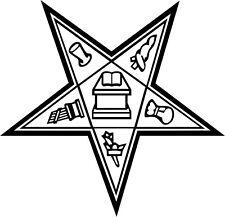 Eastern Star Masonic Vinyl Decal Sticker Car Window Wall Printed Graphic