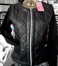 Chaqueta mujer Baci & Abbracci con lana interna, bolsillos e logo art BA01817