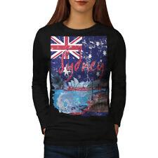 Sydney para mujeres de manga larga T-shirt new   wellcoda
