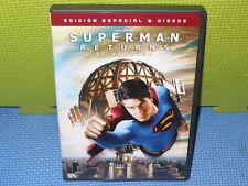 SUPERMAN RETURNS - SUPERMAN  - EDIC.ESP 2 DVDS