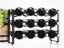 Iron Rack Display Shelf Superposition Wine Rack Wine Bottle Holder Wine Cabinet