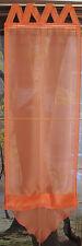 Raffrollo orange,versch.Breiten,überkr.Schlaufen,Voile