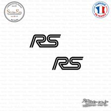 2 Stickers RS Logo Decal Aufkleber Pegatinas FOR02 Couleurs au choix