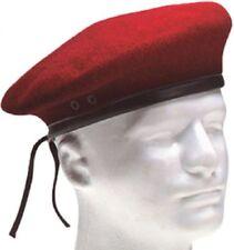Rothco 4901 Rojo G.I. Estilo De Lana Hombres boinas 5ce8cf51adc