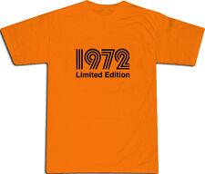 1972 Limited Edition Cool T-Shirt S-XXL # Arancione