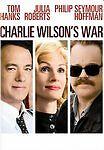 Charlie Wilsons War (DVD, 2008, Full Frame) Tom Hanks Julia Roberts Hoffman