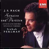 Bach: Sonatas & Partitas; Itzhak Perlman, , Good