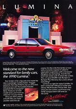 1990 Chevrolet Lumina - family sedan - Classic Vintage Advertisement Ad D06