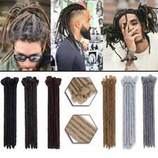 "12"" Soft Dreadlock Extension for Men Handmade Dreads Faux Locs Crochet Twist USA"